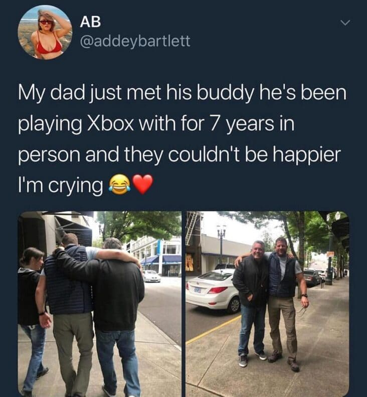 meeting buddy wholesome meme