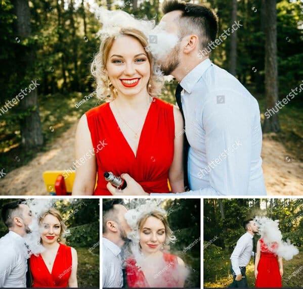 WTF stock photos vape engagement photos