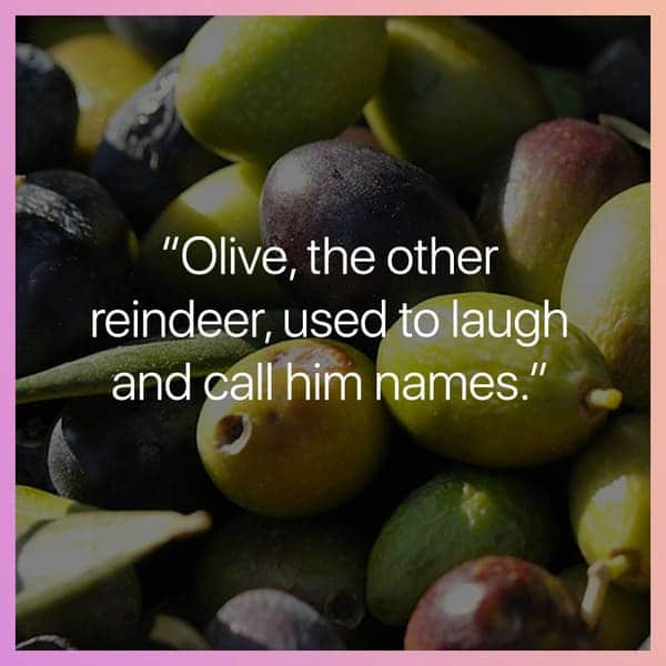 olive the other reindeer, misheard christmas lyric, misheard christmas lyrics, funny misheard christmas lyric, funny misheard christmas lyrics, misheard christmas song lyric, misheard christmas song lyrics, funny misheard christmas song lyric, funny misheard christmas song lyrics