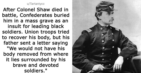colonel shaw photo, Today I learned, random facts, interesting history and science, reddit, TIL