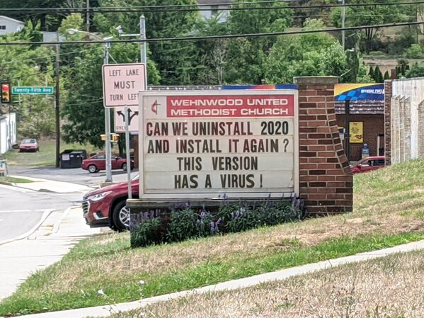 Funny church signs, humorous signs, jokes about god and church, clean humor