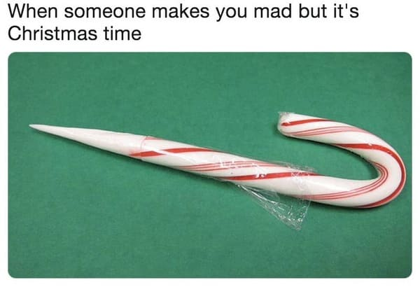 candy cane knife Christmas memes, funniest Christmas memes, xmas memes, Christmas memes 2020, funniest x-mas memes, funny Christmas jokes, funny Christmas tweets