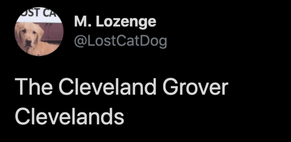 Cleveland Indians change their name, twitter reaction name suggestions