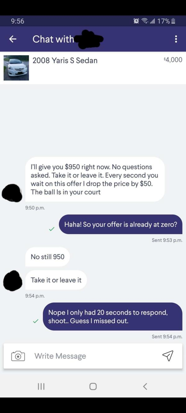 Choosing beggars, rude people asking for free stuff, reddit, entitled people, bad negotiations, paying with exposure