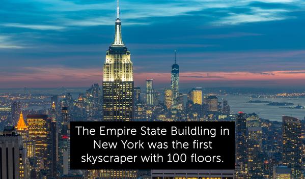 empire state building, random fact