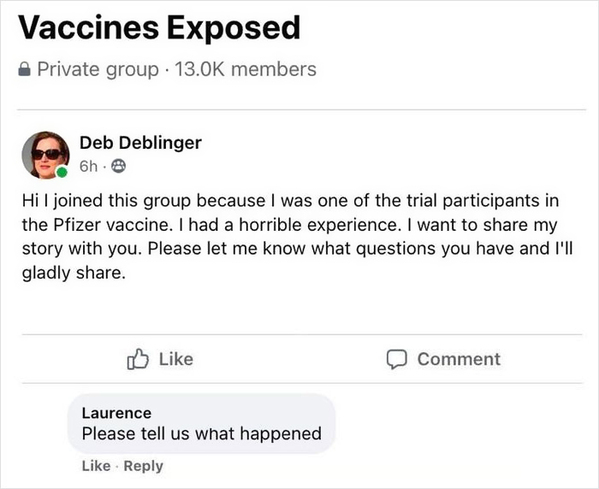 Funny guy trolls anti vaxxers, anti vaccine people mad at troll, hilarious comedian trolling people in Facebook vaccine groups, palmertrolls
