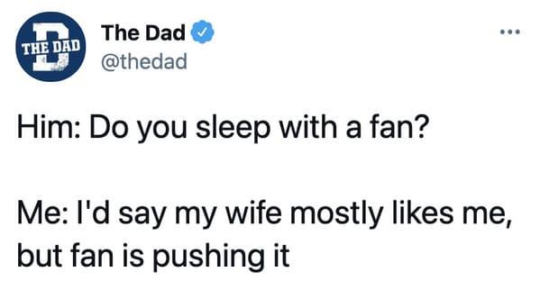 Funny husband twitter, funny tweets by married men, spouses, relationship jokes, wife jokes, tweets by dads, funny jokes about marriage, married life