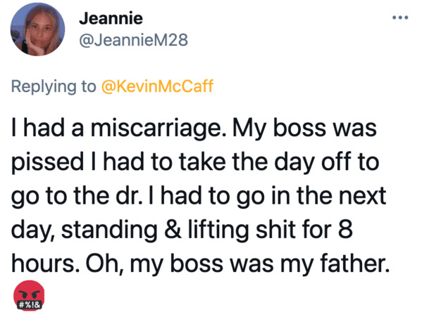 Bad bosses, horrible bosses, boss horror story, bad jobs, employees get revenge on boss, terrible people, viral twitter thread, funny tweets about boss