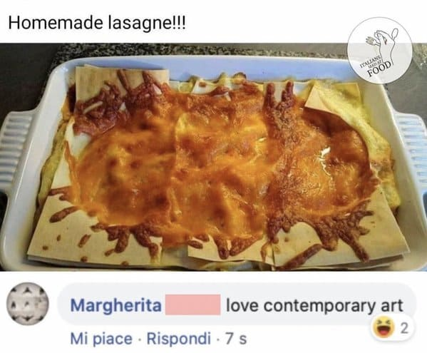 Italians getting mad at food, hilarious comments about bad cooking, Italian comments roasting food, bad Italian food, do not make pasta like that, mean people on the internet, funny pics of food