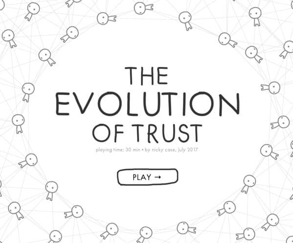 evolution of trust, best websites no one knows about, weird internet oddities, interesting internet sites, unknown websites, nostalgia