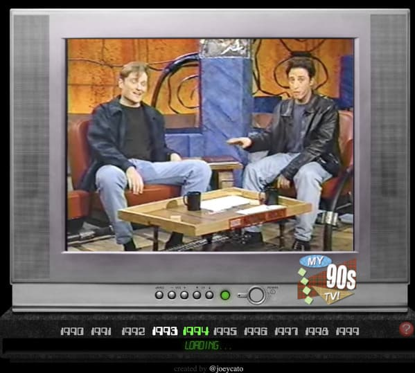 conan and jon stewart talking on old tv, best websites no one knows about, weird internet oddities, interesting internet sites, unknown websites, nostalgia