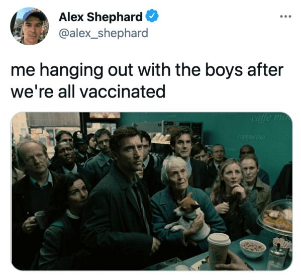 Funny memes about the covid vaccine, funny memes, lol, coronavirus, moderna, Pfizer, virus shots, immunity, jokes, funny tweets