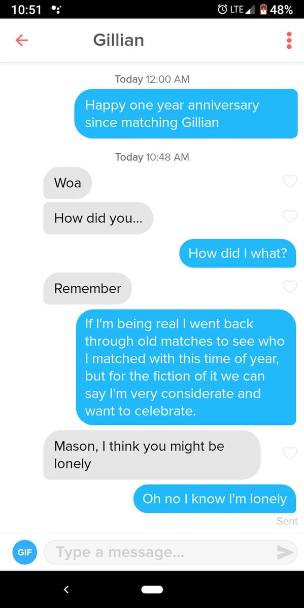 Funny dating self owns, embarrassing dating screenshots, tinder funny pics and profiles, self-deprecating jokes on dating apps, lol, funny pics, jokes, memes, reddit, r suicidebywords, comments