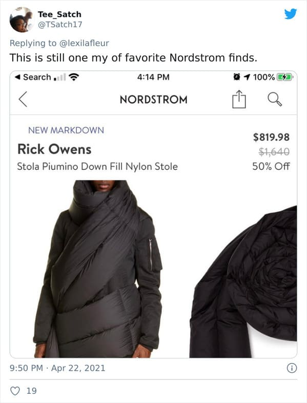Ridiculous expensive items, Nordstroms, online shopping, pricey items for no reason, dumb rich people buying dumb stuff, things available to buy online that are too expensive to be real, tweets about Nordstrom, funny pics