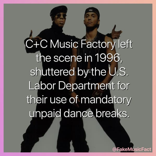 Fake Music Facts Instagram, funny memes about bands, fake history, fake music history, hilarious memes, fakemusicfact, instagram, comedy, lol, jokes, memes, musicians