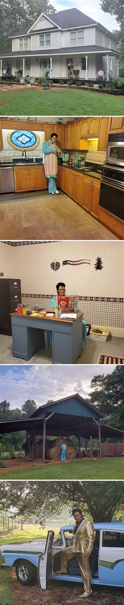 elvis in every photto, Zillow gone wild, weird and funny real estate listings, real estate agents who did extra, lol, funny pics of houses, ridiculous houses to buy, zillowgonewild, instagram, humor, funny pics