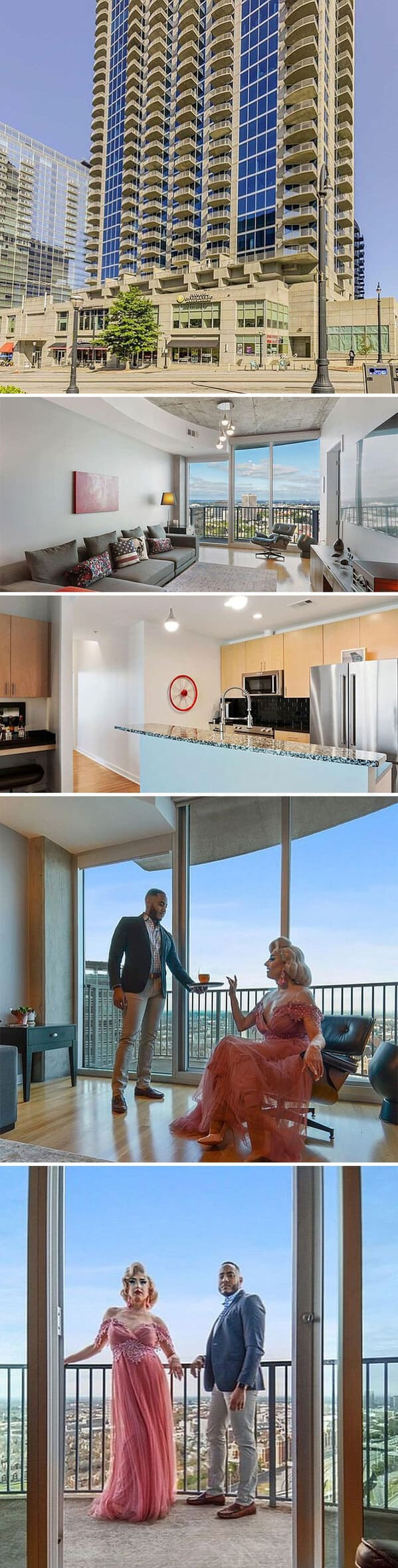 condo with couple hanging out inside it, Zillow gone wild, weird and funny real estate listings, real estate agents who did extra, lol, funny pics of houses, ridiculous houses to buy, zillowgonewild, instagram, humor, funny pics