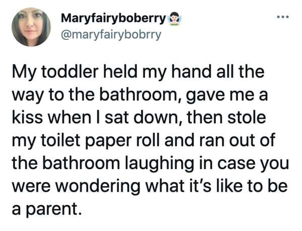 Funny kids humble their parents, parenting twitter, funny tweets about parents and toddlers, kids say the darnedest things, hilarious examples of kids humbling parents, lol, funny twitter parents